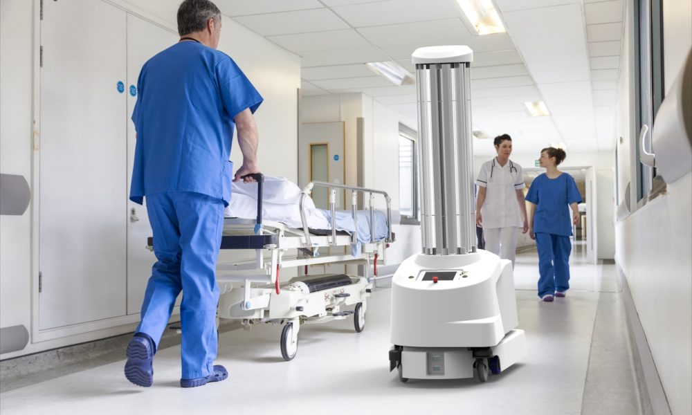 Robot mobilny firmy UVD-Robots