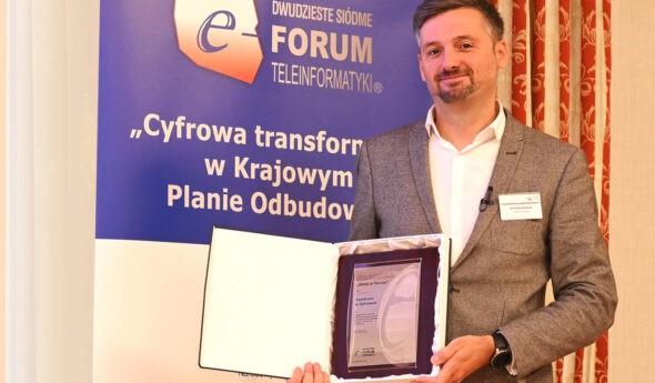 Centrum e-Zdrowia znagrodami XXVII Forum Teleinformatyki